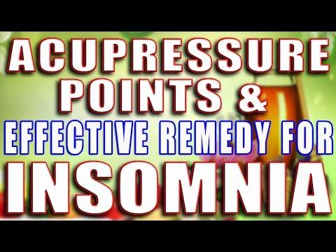 ACUPRESSURE POINT & EFFECTIVE REMEDY FOR INSOMNIA II इंसोम्निया के लिए एक्यूप्रेशर पॉइंट् ऐंव उपाय I