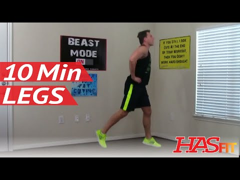 12 Min Devastation Leg Workout at Home without Equipment - Legs Exercises - Leg Workouts