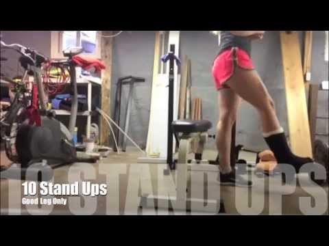 One Foot Workout - Back and Balance