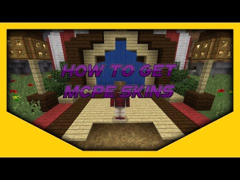 How to get MineCraft Pocket Edition Skins[0.11.1](No Jailbreak/Computer) IOS