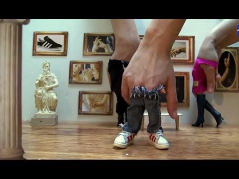 Fingers Harlem Shake | Finger Dance
