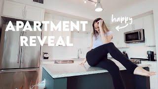 apartment reveal \u0026 life update 💫
