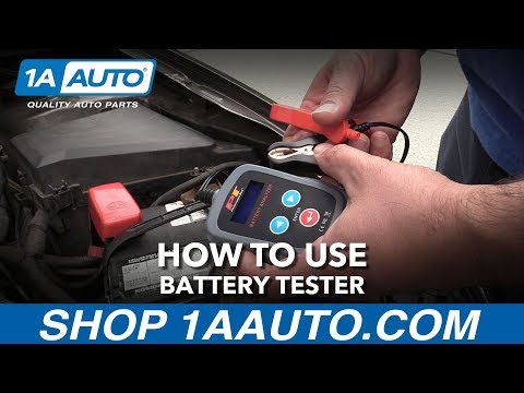 How to Use A Battery Tester