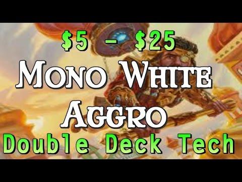 Mtg Double Deck Tech: Budget White Weenies in Kaladesh Standard!