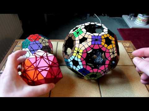 VeryPuzzle Void Truncated Icosidodecahedron (VTI) & Scramble