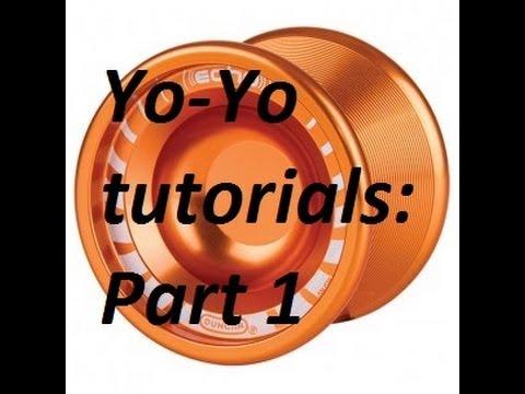 Yo-Yo tutorials: Part 1: How to hold, throw and return yoyo (Duncan Strix)