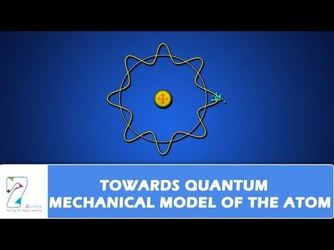 QUANTUM MECHANICAL MODEL OF THE ATOM PART 01