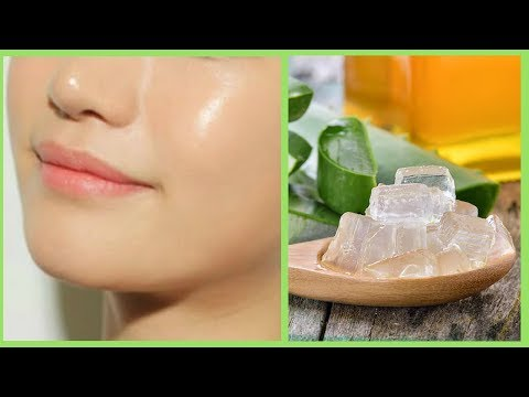 How to Get Clear, Glowing, Fair and Spotless Skin by Using Aloe Vera Gel