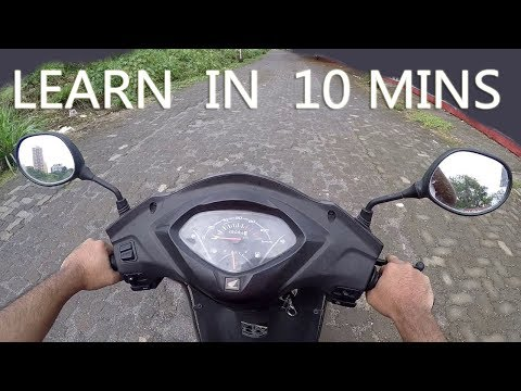 SCOOTY Chalana Sikhiye SIRF 10 MINUTES Me - Easy Learning Lesson