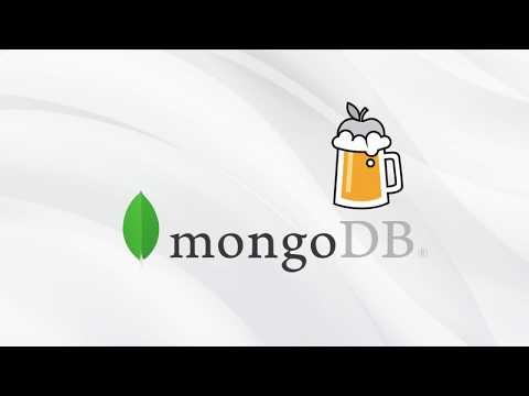 Setting up Mongodb on Mac with Homebrew