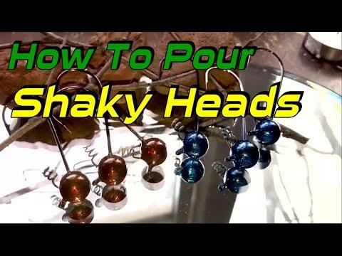 Shaky Head Molds