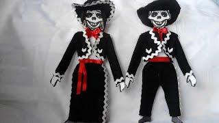 Como Vestir Esqueleto De Papel O Calavera Mariachi Con