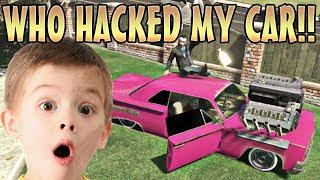 KID GETS CRAZY CAR MODS!! (GTA 5 Funny Trolling)