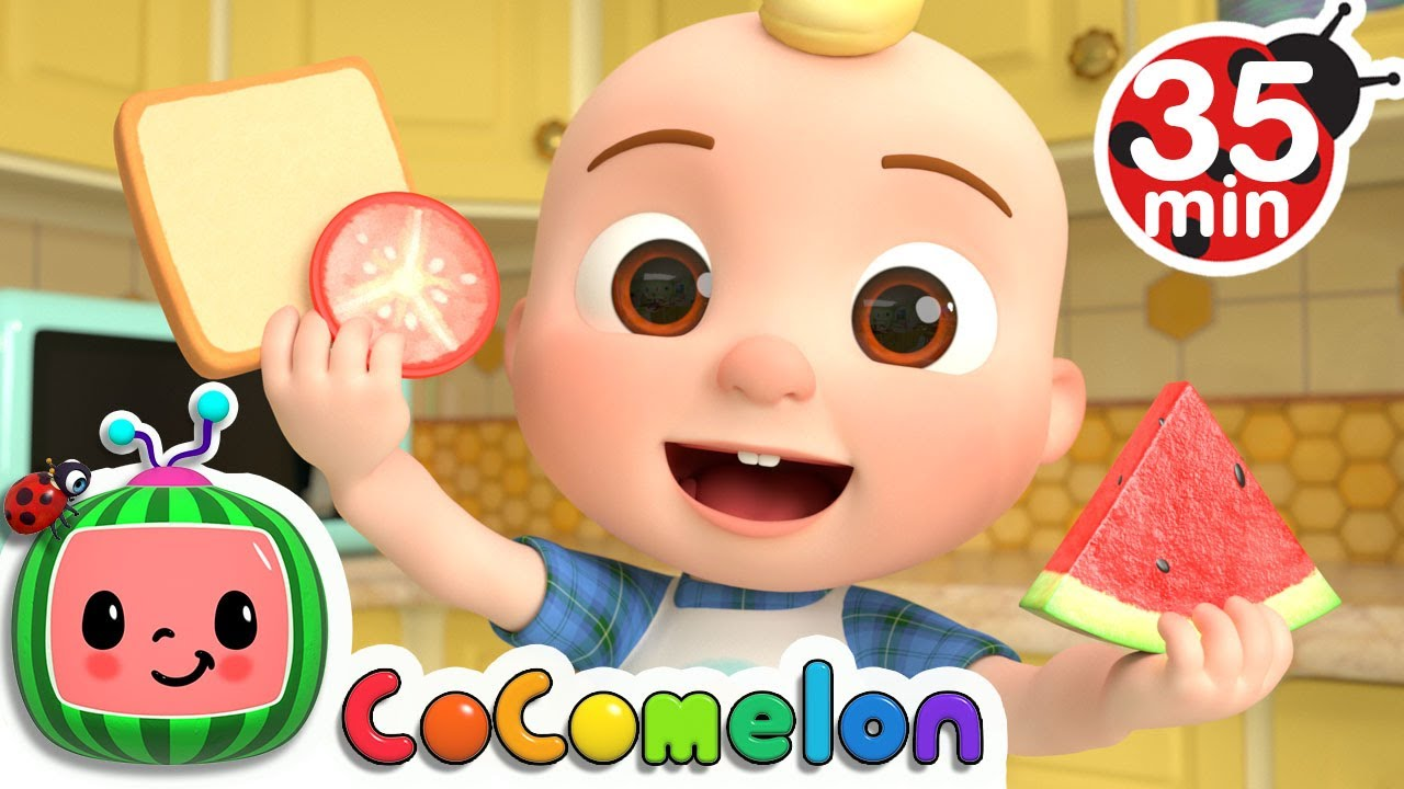Shapes In My Lunch Box Song + More Nursery Rhymes & Kids Songs - CoComelon