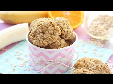 Banana & Orange Oat Toddler Bites | Healthy Snacks for Toddlers