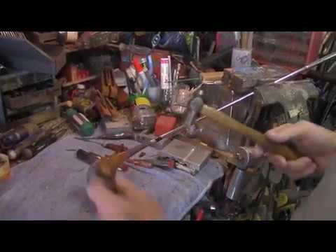 Golf Club Restoration and Persimmon Refinishing / Part 1 Shaft Removal