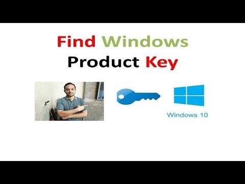 How To Find your Windows Product Key Win 7,8,10