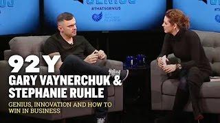 Gary Vaynerchuk: 92Y Talk With Stephanie Ruhle