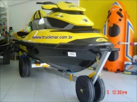 carreta para jet ski truckmar - jet ski dolly truckmar for jet ski