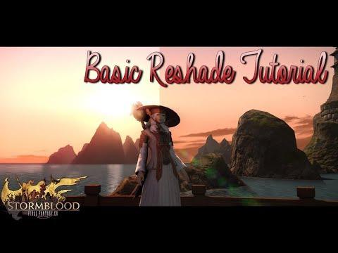 FFXIV: Basic Reshade Tutorial