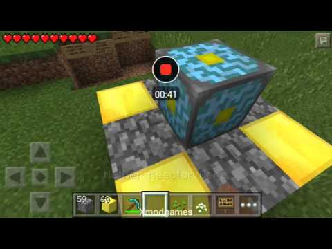 easy active the nether reactor core in mcpe 11.1