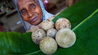 Khatta Meetha Paka Kodbel Makha Prepared by Grandmother | Mouthwatering Wood Apple Recipe