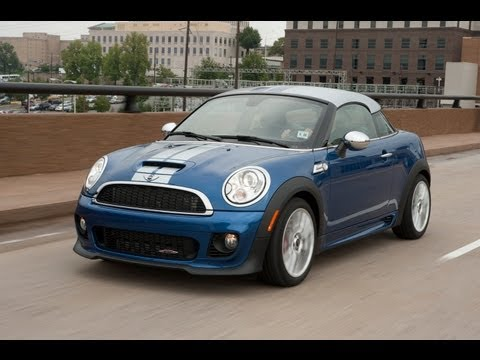 2012 MINI Cooper JCW Coupe - Drive Time Review with Steve Hammes