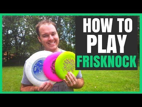 How To Play Frisknock (Beersbee, Polish Horseshoes, Beer Frisbee) | Best Lawn/Outdoor Games (2017)