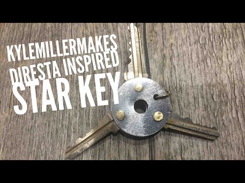 Diresta inspired star key