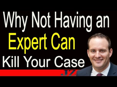 Why Not Getting an Expert Can Kill Your Injury Case