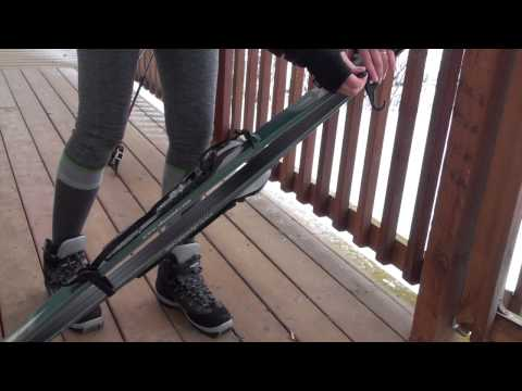LYNX Hooks: Easily Carry Your XC Skis