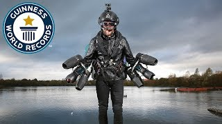 Real life Iron Man sets new flight speed record - Guinness World Records Day