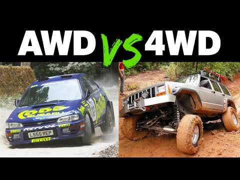 The Differences Between AWD and 4WD