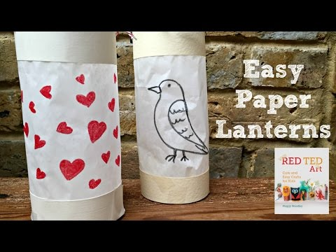 Paper Crafts DIY - How to Make an Easy Paper Lantern