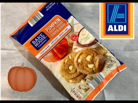 ALDI Pumpkin Cream Cheese Cookie Dough | Bake And Taste Review