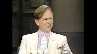 Tom Wolfe Collection on Late Night, Late Show, 1987-98