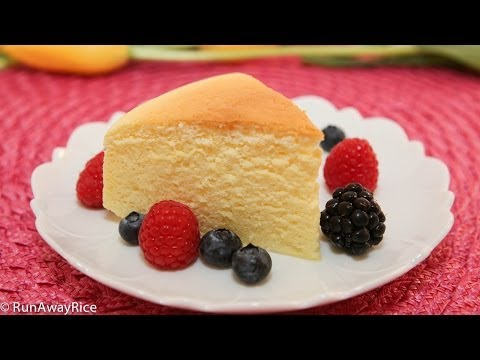 Cotton Cheesecake / Japanese Cheesecake - Light and Fluffy Cake, Easy Recipe!