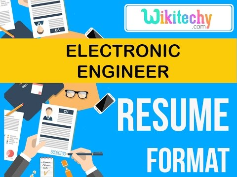 resume | electronic engineer resume | sample resume | resume templates | cv template