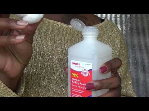 How to Remove GLUE from lace frontal wig| Simple and Easy