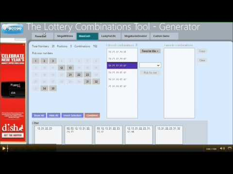 Free Lottery Combinations Tool