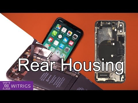 iPhone X Back Housing Replacement