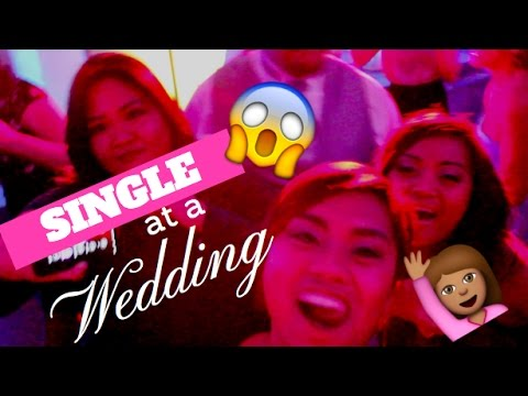 How to be SINGLE (at a Wedding) | Jen & Jim's Wedding VLOG