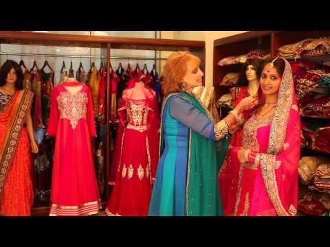 Indian Veil Draping Instructions : Indian Wedding Attire