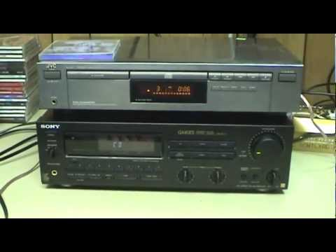 Three Stereo Receivers and a Speaker System