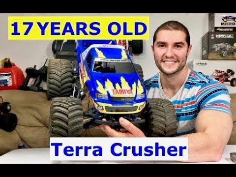 2002 Tamiya Terra Crusher Restoration (Is it superior to the T-Maxx)