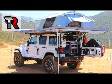 Overland Jeep Wrangler Walk Around