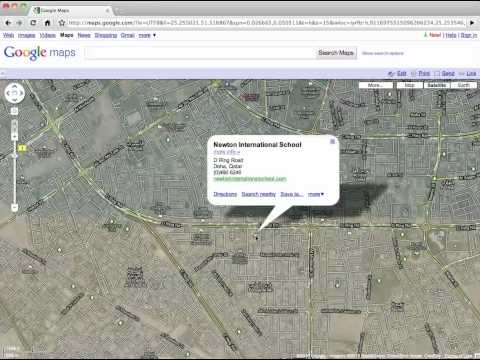 Finding Coordinates in Google Maps