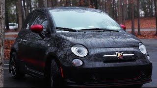Fiat 500 Abarth Review!-The Little Car That Could