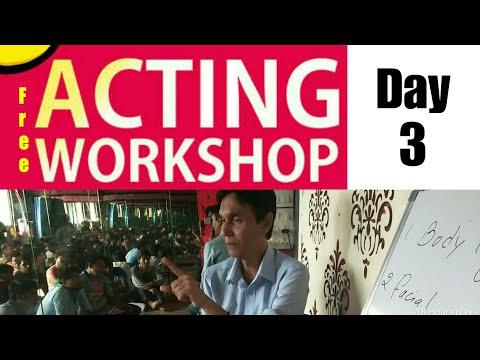 Free Acting Workshop for Subscribers Day - 3 | Mr.Deva | Vinay Shakya | Lets Act Actor Studio Mumbai