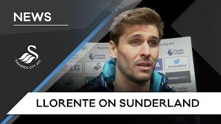 Swans TV - Reaction: Llorente on Sunderland